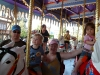 The Fam On The Carousel